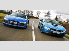 Audi R8 vs BMW i8 Exotic Car List