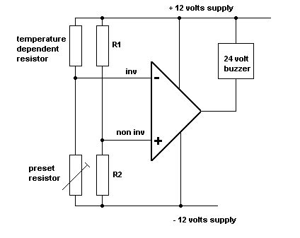Temperature Alarm Tutorial Circuits Operational