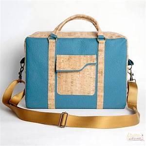 Laptoptasche Selber Nähen : meine neue laptoptasche aus korkstoff proben her gesucht ~ Kayakingforconservation.com Haus und Dekorationen