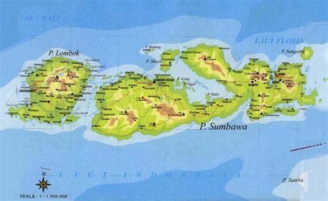 nusa tenggara barat nusa tenggara peta beautiful