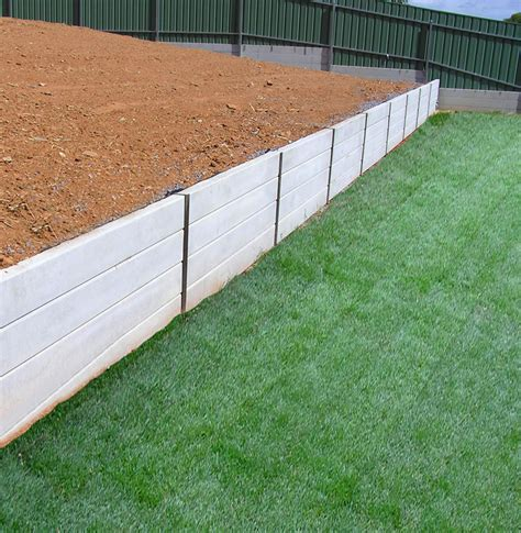 how to build a cement retaining wall all retaining walls in lewiston sa landscaping truelocal