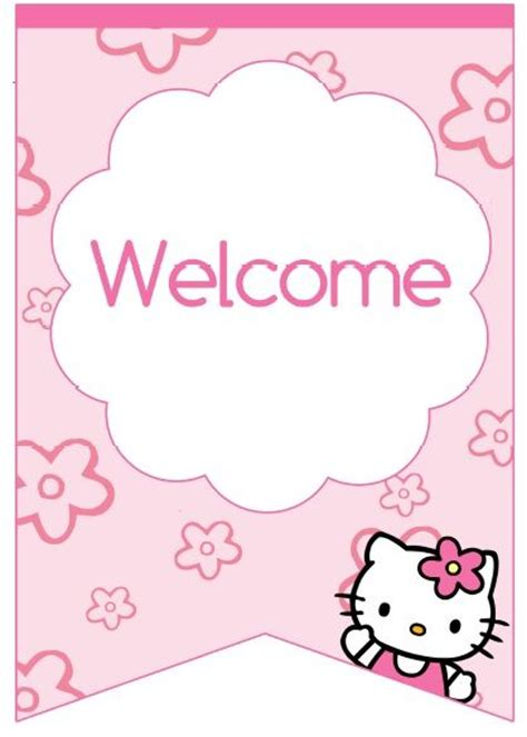 images   kitty birthday printables