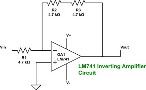 How To Turn An Lm741 Op Amp Into A Distorted