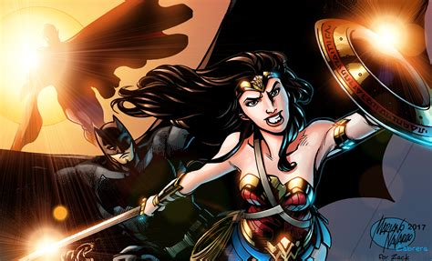 Justice League Wonder Woman Superman Batman, Hd