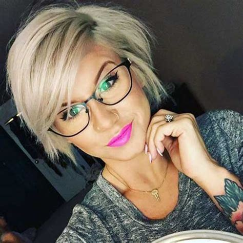 cute short hairstyles   love