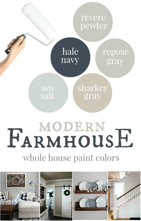 our house modern farmhouse paint colors colors