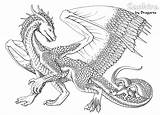 Dragon Coloring Pages Chinese sketch template
