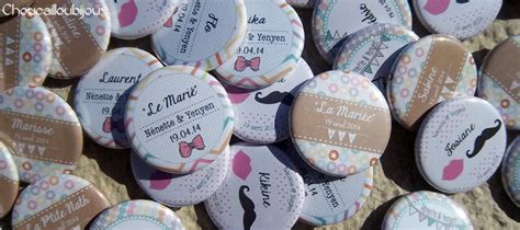 badges personnalisã s mariage badges personnalisés pour votre mariage choucabi