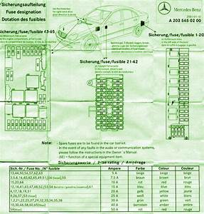 2001 Mercedes Benz C240 Fuse Box Diagram  U2013 Circuit Wiring