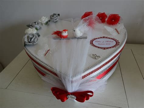urne forme coeur le mariage