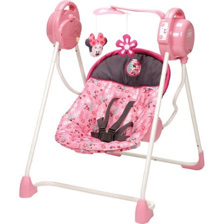 Minnie Mouse Baby Swing by Disney Sway N Play Swing Sweet Minnie Walmart