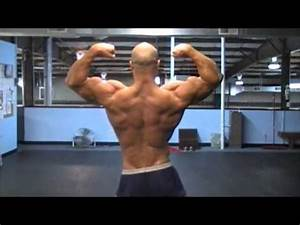 2 Weeks Out Bodybuilding Posing Session - YouTube