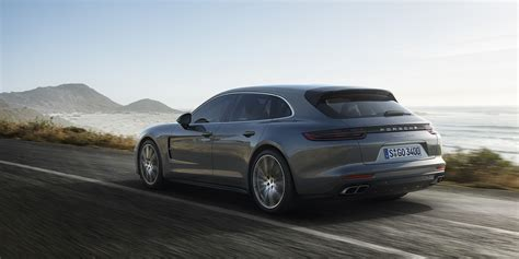 porsche car panamera 2018 porsche panamera sport turismo revealed available to