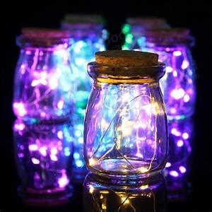 Romantic, Xmas, 10, Led, Colours, Seed, Vase, Lights, Wedding, Centrepiece, Fairy, Lights, Sale