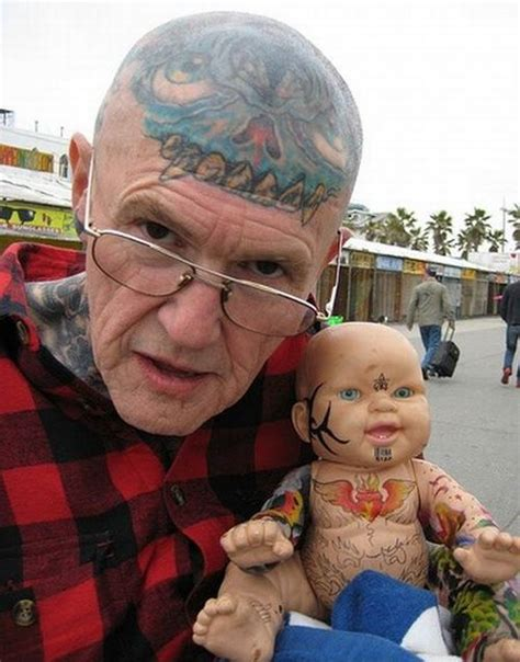 Old People With Tattoos (20 Pics