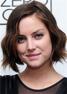 Wavy Hairstyles For Short Hair Celebrity Haircuts