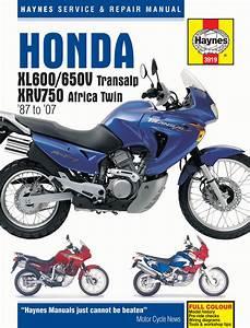 Honda Xl600  650v Transalp  U0026 Xvr750 Africa Twin Xl600v  Xl650v  87