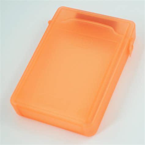 3 5inch boite de rangement pour disque dur ide sata hdd orange y3 ebay