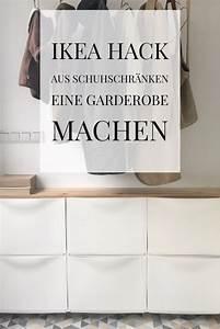 Ikea Hack Schuhschrank : eingang hell freundlich und nat rlich gestalten ikea hack schuhschrank ~ Eleganceandgraceweddings.com Haus und Dekorationen