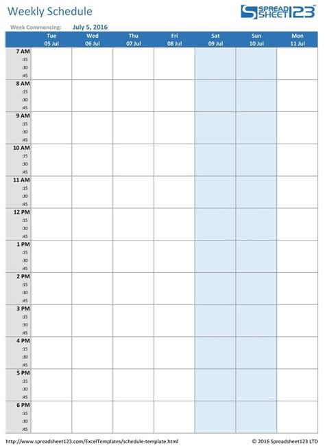 Blank Copy Of Monthly Sign Up Sheet Calendar Schedule ...