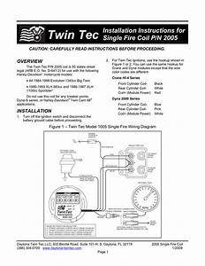 Single Fire Coil Instructions