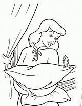 Cinderella Coloring Pages Disney Princess Printable Sheets Cinderela Printables Filminspector Bird Colors Books Fairy sketch template