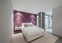 grey and purple bedroo...