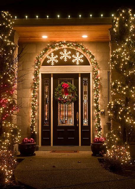 super cool outdoor decor ideas  christmas lights