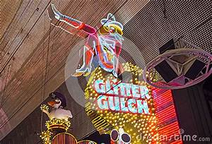 Las Vegas , Glitter Gulch Editorial Image - Image: 56383450