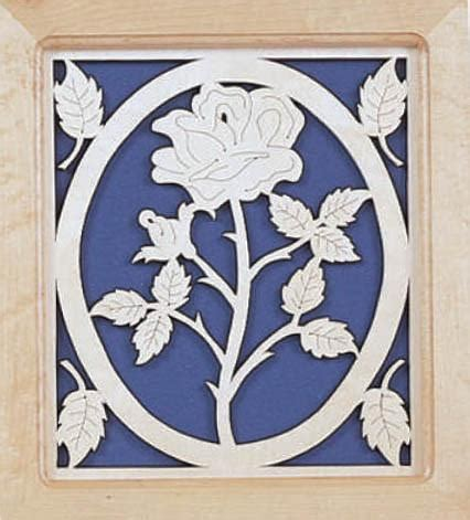 scroll  pattern  rose fretwork