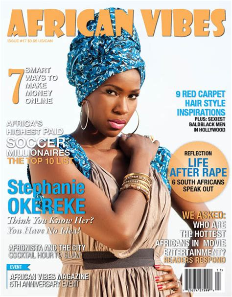 Decor Magazines South Africa by Okereke Covers Vibes Magazine Welcome