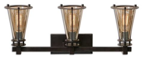Uttermost 22863 Rustic Black With Cognac Glass Frisco 3