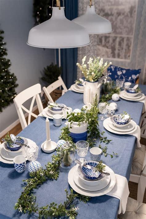 6 idejas, kā izrotāt svētku galdu tā, lai pat Ziemassvētku ...