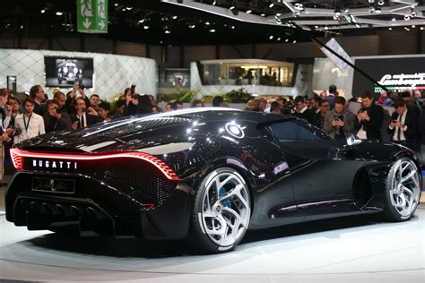 When contacted, bugatti's head of communications in france, tim bravo confirmed that the purchased car has not been delivered yet to the new owner. Bugatti La Voiture Noire unveiled, most expensive car ever | PerformanceDrive