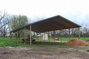 84 pole barn with lean to photo 1 of 8 pole barn lean With big pole barn