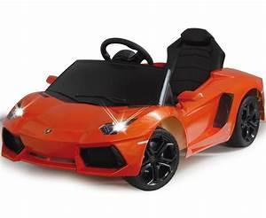 Voiture Propulsion Pas Cher : voiture lectrique enfant lamborghini aventador orange jamara 404605 ride on lamborghini ~ Medecine-chirurgie-esthetiques.com Avis de Voitures