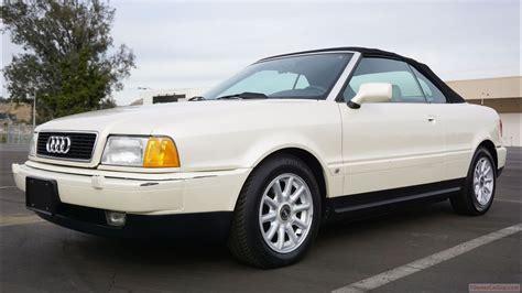 audi 80 b4 cabrio 1996 audi 80 b4 cabriolet last year classic car