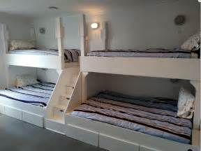 Xl Twin Bunk Beds by Buy A Handmade Queen And Twin Quad Bunk Bed With Step And