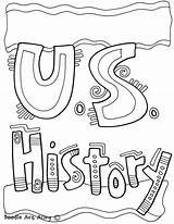 History Coloring Pages Binder Subject Covers Notebook Printable Classroomdoodles Social Studies Middle Subjects Classroom Doodles Scientific Method Students Teacher Creative sketch template