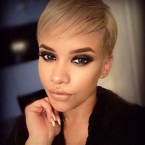 blonde pixie cuts short hairstyles haircuts