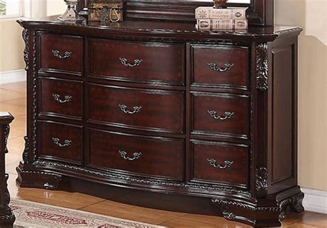 sheffield dark cherry dresser louisville overstock warehouse