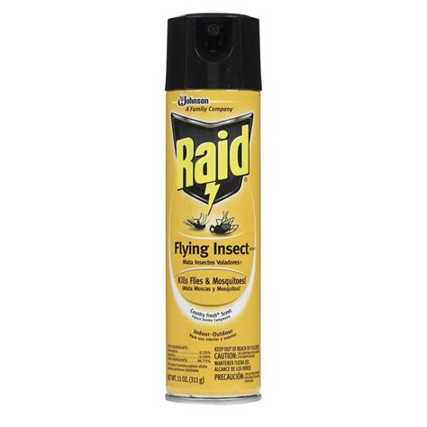 raid 11 oz ready to use country fresh flying insect