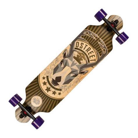 drop longboard decks uk d skateboards drop thru stag complete longboard 39
