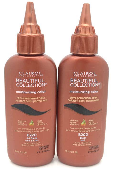 Clairol Beautiful Collection Semi Permanent Black Hair Dye