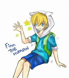 Finn the Human by cloudkourin on DeviantArt