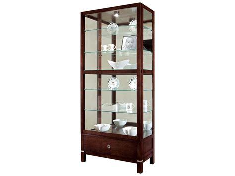 espresso curio cabinet howard miller williamson espresso curio cabinet 680515