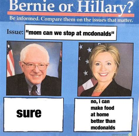 Bernie Hillary Memes - 9 donald trump running mates that make his presidency a sure thing rooster magazine