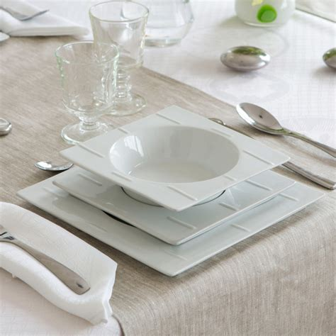 service de table design service de table design blanc