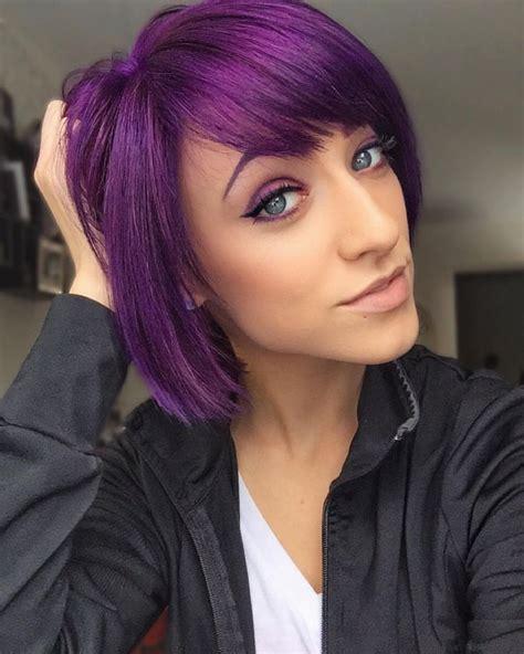 25 best ideas about purple bob on pinterest short hair
