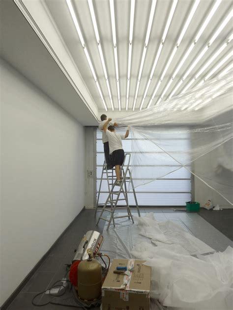 pose d un plafond tendu plafond lumineux meunier plafond tendu 224 lyon